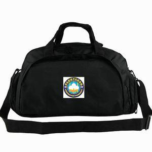 Açık sapan paketi yün Pakhtakor spor çantası FC Taşkent torbaları Pamuk işçisi futbol kulübü sırt çantası Futbol rozeti bagaj Spor omuz