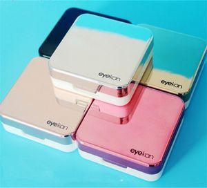 Capa de Lentes de Contato Refletiva de Alta Qualidade com Espelho Cor Lentes de Contato Caixa de Óculos Caixa de viagem kit