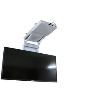 2018 моторизованный электрический скрытый флип вниз подвесной потолок LED LCD телевизор подъемник крепления держатель вешалки функция дистанционного управление 11-25