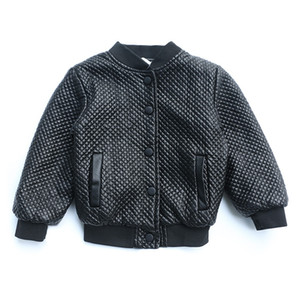 Kids boy autumn and winter pu leather coat Children Jacket for Baby Boys Outerwear Children's Warm Fashion Coat