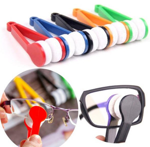 500Pcs lot Hot selling New Mini Microfibre Glasses Cleaner Microfibre Spectacles Sunglasses Eyeglass Cleaner Clean Wipe Tools