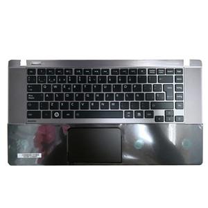 Caso superior do portátil para u840w Toshiba U845w Original novo Palmrest capa Top Shell teclado completo com Touchpad
