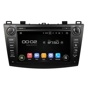Lecteur DVD De Voiture Pour Mazda 3 2009-2012 8 pouces 2 GB RAM PX5 Cortex A53 Andriod 6.0 avec GPS, Bluetooth