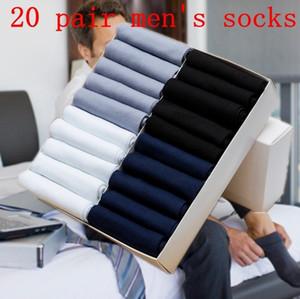 20 Pairs Yaz Erkekler Nefes Elastik Bölüm Deodorant Iş Katı Rahat Iş Eğlence Çorap Çorap Çocuk Hediye