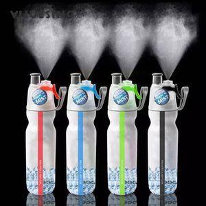 Кемпинг Логотип Вода Цвет Двухбуки Холодный напиток Бутылка изготовлена на заказ Распылитель Велосипед Изоляция Открытый Спортивный Велосипед Бутылка Водный спорт Пешие прогулки 4 МТАА