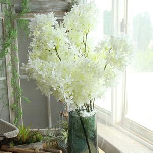 Искусственный шелк сакура вишня Флорес цветок сакура Восточная вишня украшения свадебный номер партии аксессуары шелковые цветы