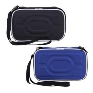"""أسود الصلبة المحمولة حقيبة غطاء حقيبة زيبر EVA حمل الحقيبة غطاء 2.5 """"HDD محرك الأقراص الصلبة الخارجية حماية صندوق الساخن بيع"""