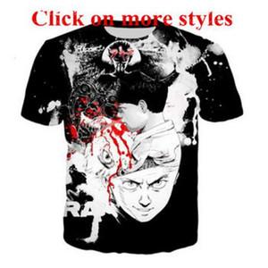 Akira Kaneda Neo Tokyo аниме футболки новая мода мужчины / женщины 3d характер футболки футболка 3D печати футболки топы 1