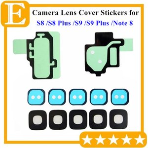 300PCS Rear Camera Lens Cover Anello Cornice sigillata Adesivo Adesivo Impermeabile per Samsung Galaxy S8 S9 Plus + Note 8 posteriore obiettivo della macchina fotografica