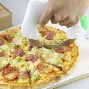 Nuovo disegno circolare anulare Cutter Coltello da cucina Tagliere Artefatto pizza 2016 Portable Sicurezza Convenienza multifunzionali Strumenti Casa Kit