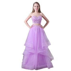 2 Piece Boho Wedding Dress bohemian beach wedding dresses long Lace Wedding Gowns Floor Length Sexy Backless CMW0020