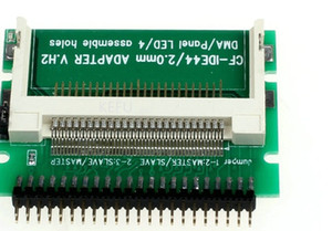 "10 шт./лот CF карты 2.5 "" IDE адаптер, компактный флэш-диск памяти 44Pin 2.5 дюймов мужской ноутбук PATA HDD конвертер, 50 шт. / лот"