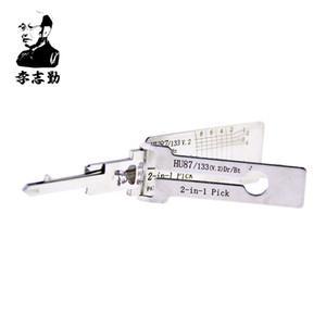 حار بيع أفضل أدوات السيارات lishi 2in1 اختيار lishi hu87 2 في 1 قفل اختيار و فك لسوزوكي