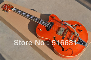 Livraison gratuite - 6120 Falcon JAZZ orange Guitare électrique GUITARES HOLLOW BODY