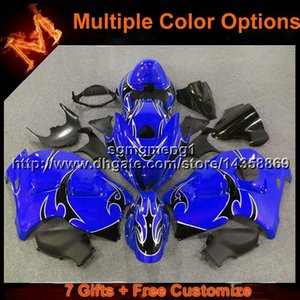 23colors+Gifts blue Motorcycle Fairing for Suzuki 97 98 99 00 01 02 03 04 05 06 07 GSXR1300 1997 2007