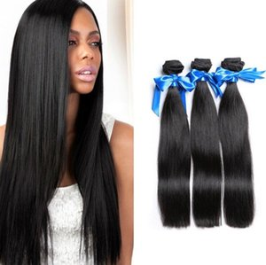ZhiFan Kunsthaareinschlag uk USA Haar bündelt gerade 1B schwarze natürliche Haarverlängerungen 14inch