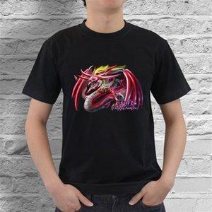 Slifer le dragon céleste Yugioh Kaiba Dark Magician T-shirt à manches courtes pour hommes