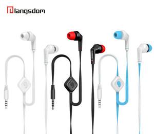 Auricular original del Langsdom JD88 JD89 bajo estupendo del auricular auricular profesional con micrófono para PC Xiaomi iphone Samsung Auriculares