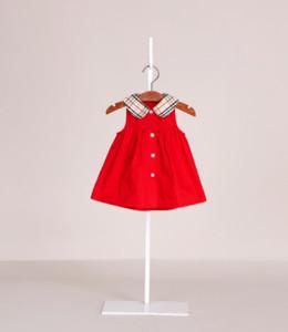 été bébé filles robe designer bébé vêtements enfant en bas âge fille enfants sans manches jupe vêtements enfants marque tops