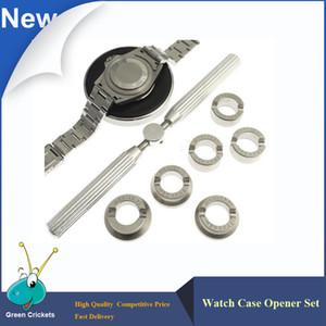 No.5537 6 종 / 세트 시계 케이스 오프너, 18.5-29.5mm 전문 시계 제조 업체 시계 수리 용 시계 케이스 개폐 장치