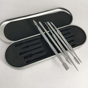 تصميم جديد التيتانيوم أداة مسمار dabber مع التعبئة والتغليف مربع الألومنيوم لالعشب الجاف المرذاذ القلم