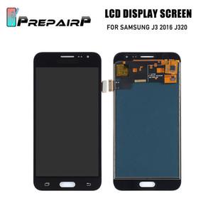 Écran LCD PrepairP pour samsung j3 2016 j320 écran lcd avec écran tactile assemblage de l'écran à cristaux liquides
