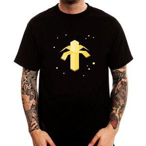 Abstrakt Banana Into Space Funny Black Printed Baumwolle Männer T-Shirt Kurzarm T-Shirt Baumwolle T Shirts Spitze T