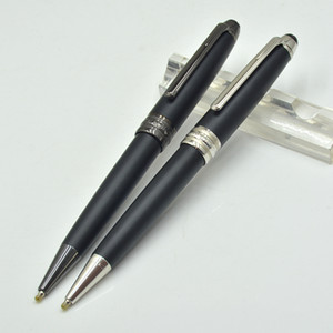 Classic 163 Матовый черный металл шариковая ручка ведущий офис канцтовары Продвижение написание пополнения ручки подарок XY2006108