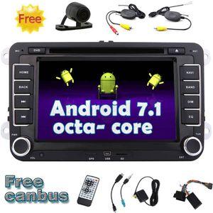 Eincar Android 7.1 Car Stereo OCTA Núcleo 2 Din 7 '' DVD Player Do Carro para Volkswagen PASSAT Golf Navegação GPS Bluetooth WiFi HeadUnit