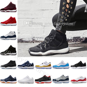 Высокое качество дешевые новый 11 UNC Чикаго Красный выиграть, как 82 96 баскетбол обувь тренажерный зал Красный Конкорд OG слайд коробка Майкл обувь мужчина женщина унисекс размер
