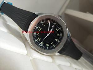Luxo de Alta Qualidade Assista 40 MM Aquanout 5167A-001 Pulseira De Borracha Pulseira Cinta Mecânica Transparente Automático Mens Watch Relógios