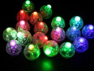 Lâmpada do ballon da forma redonda, mini luz do balão da bola do diodo emissor de luz para a decoração da festa de Natal do casamento da lanterna de papel