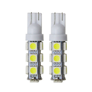 W5W T10 13SMD 5050 194 168 192 W5W T10 Led Auto Car Side Light Bulb Auto LED 12 V Lampada con fascio lampada Flood Light