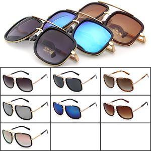 Occhiali da sole firmati di marca Occhiali da sole quadrati di moda Occhiali da sole oversize da donna Occhiali da sole antiriflesso UV400 da esterno