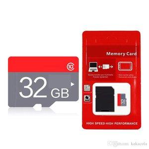 2018 년 새로운 Arrvial 256GB 32GB 16GB 64GB 128GB Class 10 TF 메모리 카드 무료 DHL 배송 12 개월 보증 1 일 발송 Red 일반