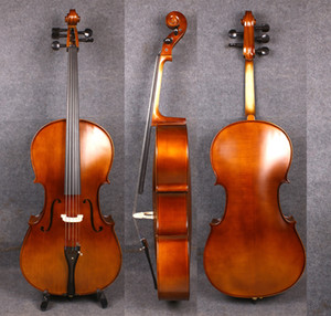 Yinfente 4 4 5 string Cello Full size Spruce Maple wood Ebony cello parts Free bag bow Hand Made