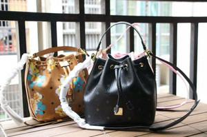 2018 kadın çanta moda Baskı buket ağız çanta
