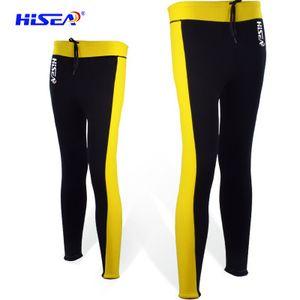 pantalones pantalones de buceo natación de invierno caliente femenina dividieron nueve pantalones traje de buceo traje de 2.5mm