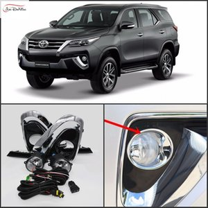 Voiture Phares anti-brouillard pour Toyota Fortuner / TOYOTA HILUX SW4 2016-On Ampoule halogène Phares anti-brouillard avant Pare-chocs Kit Lampes