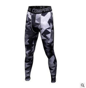 Новые повседневные 3D-печати Камуфляжные штаны Мужчины Фитнес Мужские Бегуны Компрессионные Брюки Мужские Брюки Бодибилдинг Колготки Леггинсы Для мужчин