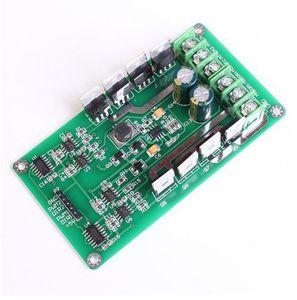 ¡Envío gratis! 1pc / lot 10A Motor de doble canal Módulo de la placa de controlador Puente H de alta potencia DC 3-36V Función de frenado fuerte Placa de la unidad