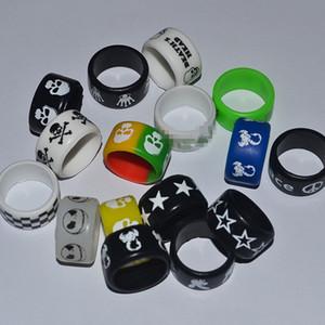 Silicon Rubber Band E Cigarette Vape silicone Accessori Ring per meccanica Mods cartucce di protezione decorativa Vape Banda