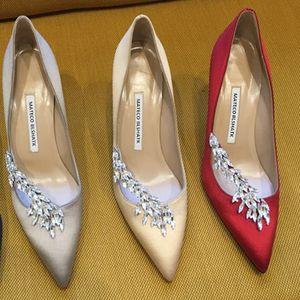 {Original Logo} Роскошные женщины насосы высоких каблуках ботинок платья 6см диаметром 8 см 10см Сексуальная Остроконечные Toe партии моды кристалл большого размера
