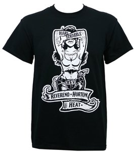 Authentic Reverend Horton Heat Band Hardscrabble Donna T-shirt S - 3xl New T Shirt Hipster Cool O Neck Tops
