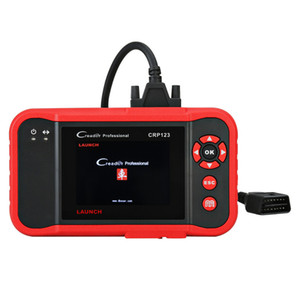 실행 X431 Creader CRP123 코드 판독기 스캐너 지원 4 시스템 (ENG \ ABS \ SRS \ Transmission) EOBD / OBDII 진단 검사 도구