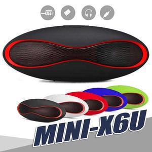 미니 X6 럭비 블루투스 스피커 X6u 휴대용 무선 스테레오 스피커 X6U 핸즈프리 V3.0 U 디스크 TF 카드를 가진 오디오 MP3 선수 Subwoofer