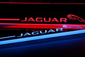 2014 2015 - Jaguar XF için 2012 Pedal Araç Dış Parçaları LED Eşiği itişme Plaka Yolu Dinamik Çıtası ışık