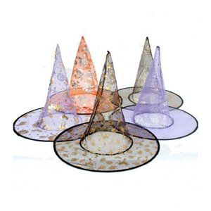 Halloween Costumes Halloween Party Props Cool Witches Wizard Hats Various Color KKA1288