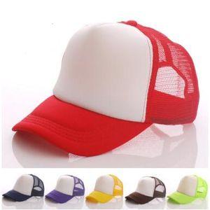 Snapback ajustável dos chapéus lisos do camionista dos esportes para a viseira de Sun da malha do Snapback dos bonés de beisebol da placa do logotipo feito sob encomenda das mulheres dos homens dos adultos