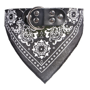Small Dog Scarf 4 sizes 7 colors Adjustable Pet Cat Triangle collars Scarf Neckerchief Necklace Dog Apparel